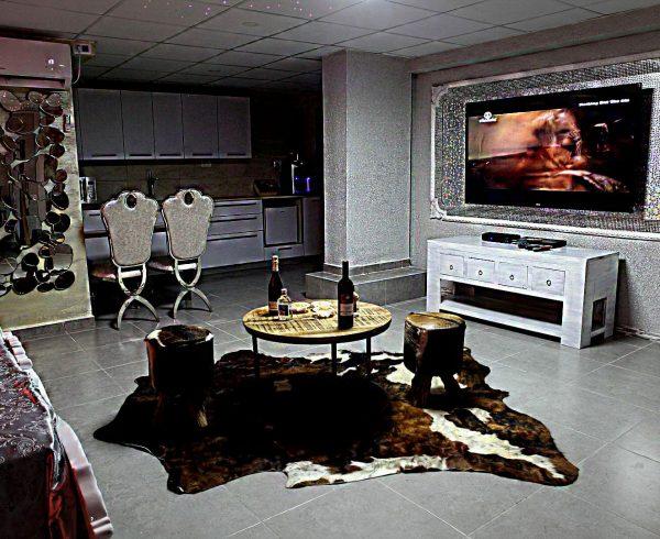 צימר בחיפה הגלקסיה - טלויזיה בכבלים ו- DVD